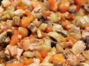 Запеченный перец с грибами - фото шаг 7