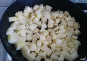 Тушеная картошка с овощами - фото шаг 2