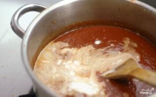 Томатный крем-суп со сливками - фото шаг 8