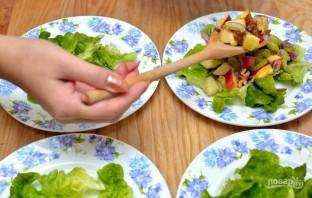 Салат с сельдереем стеблевым - фото шаг 5