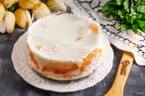 Муссовый мандариновый торт - фото шаг 9