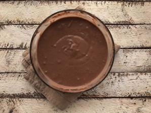 Шоколадные блины на кефире - фото шаг 5