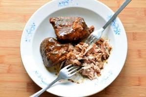 Запеченная свинина для бургеров - фото шаг 3