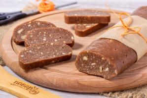 Сладкая колбаса из печенья - фото шаг 10