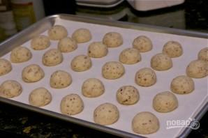 Ореховые пирожные на десерт - фото шаг 6
