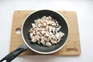 Пирог с квашеной капустой и грибами - фото шаг 7