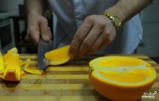 Салат с авокадо и апельсинами - фото шаг 4