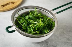 Салат с рукколой и тофу - фото шаг 8