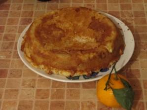 Шарлотка с апельсинами - фото шаг 6