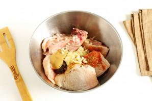 Курица жареная - фото шаг 3