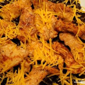 Куриное филе с фасолью - фото шаг 8