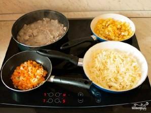 Овощное рагу с мясом и картошкой - фото шаг 2