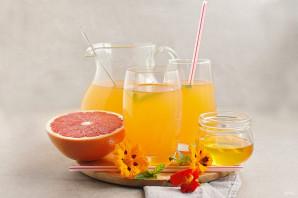 Грейпфрутовый сок - фото шаг 6