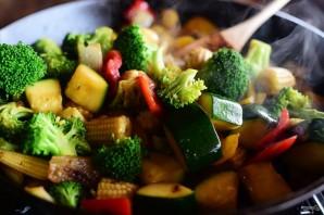 Овощной стир-фрай - фото шаг 4