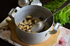 Грибной холодный суп на воде - фото шаг 2