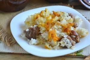 Рис с мясом в духовке - фото шаг 8