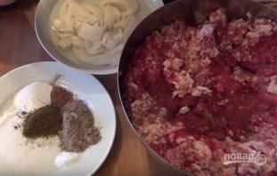 Сырокопченая колбаса - фото шаг 1