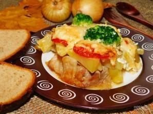 Грудинка, запеченная с картофелем - фото шаг 8