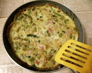 Фриттата с овощами к завтраку - фото шаг 5