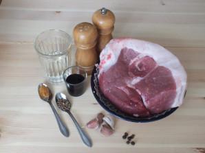 Домашняя колбаса в фольге - фото шаг 1