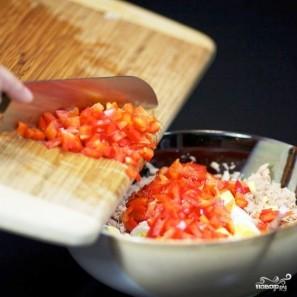 Сэндвичи с салатом из тунца - фото шаг 5