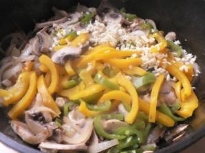 Тушеные грибы с овощами - фото шаг 4