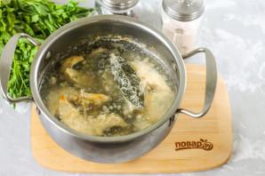 Салат со скумбрией на зиму - фото шаг 3