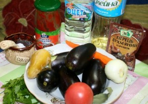 Рецепт икры из баклажанов - фото шаг 1