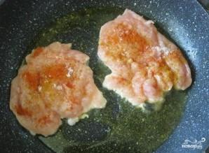 Куриная отбивная с ананасом - фото шаг 3