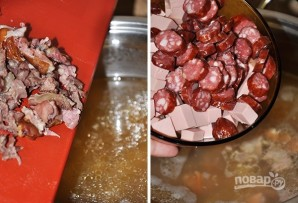 Суп-солянка мясная - фото шаг 4
