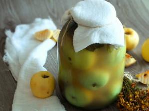 Моченые яблоки в банках на зиму - фото шаг 7