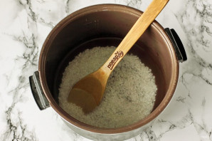 Рисовая каша на воде в мультиварке - фото шаг 3