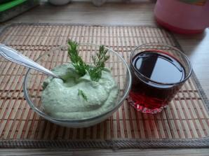 Творожная паста с зеленью - фото шаг 3