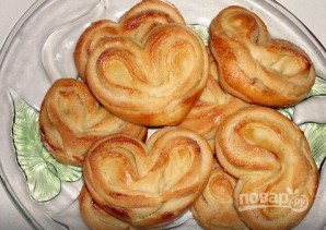 Рецепт вкусных плюшек с сахаром - фото шаг 6