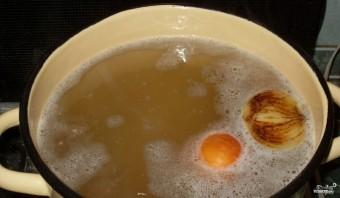 Гороховый суп с грибами - фото шаг 1