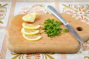 Бутерброды с селедкой и лимоном - фото шаг 2