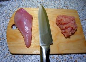 Куриные зразы с сыром - фото шаг 1