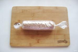 Домашняя колбаса в пакете - фото шаг 9