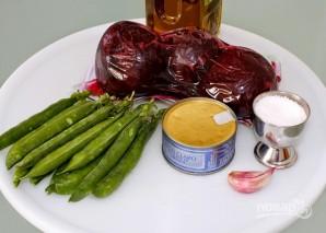 Салат с тунцом и свеклой - фото шаг 1