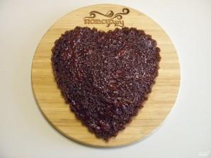 Торт в виде сердца - фото шаг 9