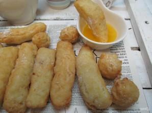 Рисовые палочки с апельсиново-медовым соусом  - фото шаг 10
