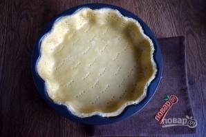 Пирог с печенью и грибами - фото шаг 6