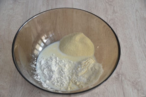 """Греческий пирог """"Бугаца"""" - фото шаг 2"""