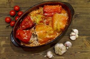 Фаршированные перцы в томатном соусе - фото шаг 7