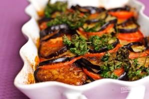 Говядина с баклажанами и помидорами в духовке - фото шаг 14