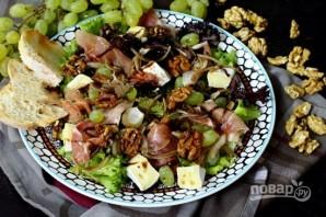 Салат с ветчиной и камамбером - фото шаг 8