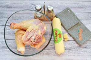 """Курица в сырном соусе """"Птичье молочко"""" - фото шаг 1"""