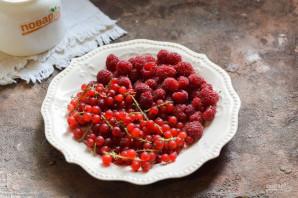 Компот из красной смородины и малины на зиму - фото шаг 1