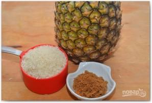 Рис с ананасами - фото шаг 1