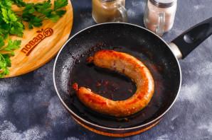 Куриная колбаса с салом - фото шаг 6
